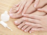 Vernis semi permanent French (mains ou pieds)